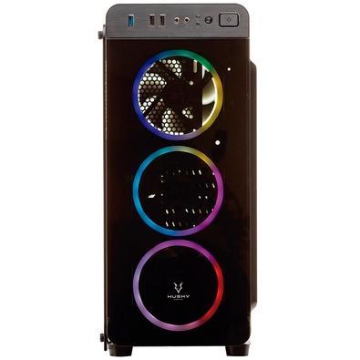 PC Gamer Concórdia i5-9400F, RAM 8GB, SSD 240GB e HD 500GB, GTX 1050 Ti, Fonte 500W, Linux - 30220