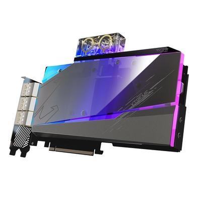 Placa de Vídeo Gigabyte Aorus NVIDIA GeForce RTX 3090 Xtreme Waterforce WB, RGB, 24G, DLSS, Ray Tracing - GV-N3090AORUSX WB-24GD