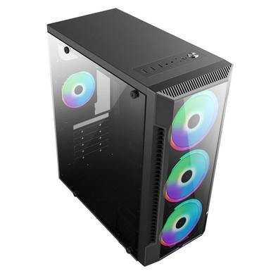 PC Gamer Brazil PC AMD Ryzen 3 2200G, 16GB RAM, SSD 480GB, Fonte 500W 80 Plus, Teclado + Mouse, Preto