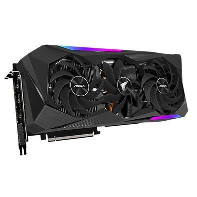 Placa de Vídeo Gigabyte AORUS NVIDIA GeForce RTX 3070 Ti MASTER 8G LHR,  8GB GDDR6X, RGB Fusion 2.0, Ray Tracing, DLSS - GV-N307TAORUS M-8GD