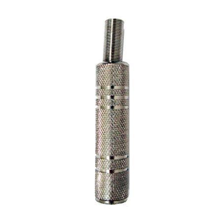 Plug P10 Fêmea Joymix - para Cabo Mono Niquelado - 35701