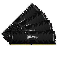 Memória Kingston Fury Renegade, 64GB (4x16GB), 3600MHz, DDR4, CL16, Preto - KF436C16RB1K4/64