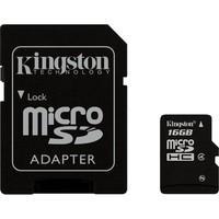 Cartão de Memória Kingston MicroSDHC 16GB Classe 4 com Adaptador - SDC4/16GB