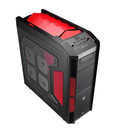 Gabinete Gamer AeroCool ATX XPredator Devil Red Window - EN52436