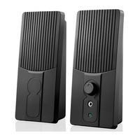Caixa de Som USB Multilaser 2.0 1W RMS - SP044 Preto