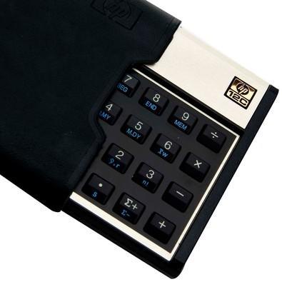 Calculadora Financeira HP 12C Gold, 120 Funções, Visor LCD, RPN e ALG
