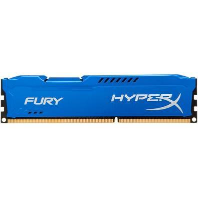 Memória Kingston HyperX FURY 4GB 1866Mhz DDR3 CL10 Blue - HX318C10F/4