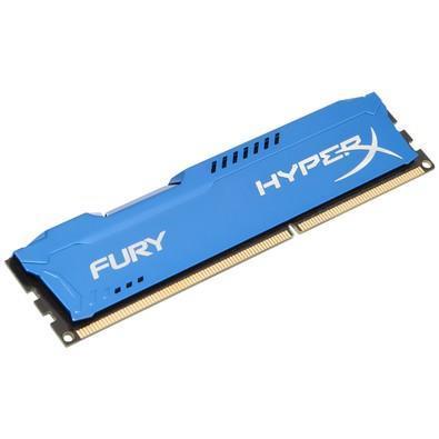 Memória HyperX Fury, 8GB, 1866MHz, DDR3, CL10, Azul - HX318C10F/8