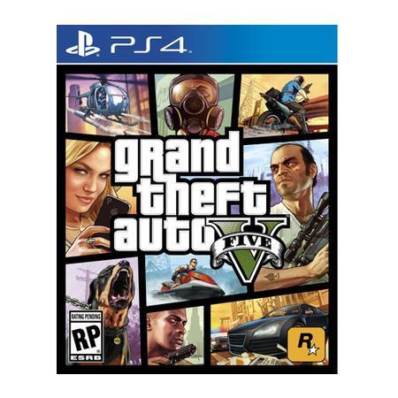 Game GTA V - Grand Theft Auto V PS4