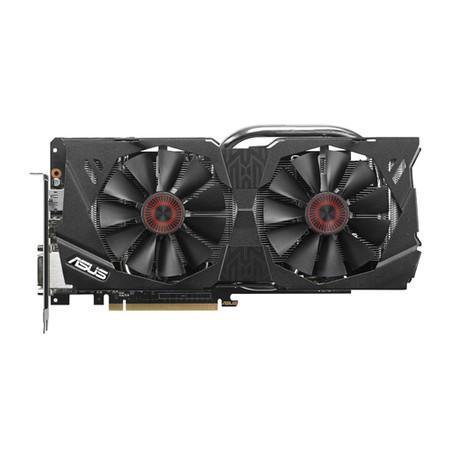 Placa de Vídeo VGA Asus NVIDIA GeForce GTX 970 OC 4GB GDDR5 256-bits 4K PCI-E 3.0 STRIX-GTX970-DC2OC-4GD5