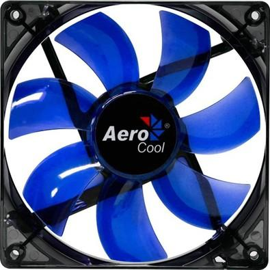 Cooler FAN AeroCool Lightning 12cm BL LED EN51394