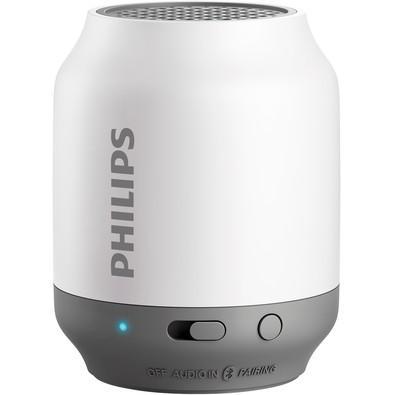 Caixa de Som Philips Portátil Bluetooth 2W Branco - BT50WX/78