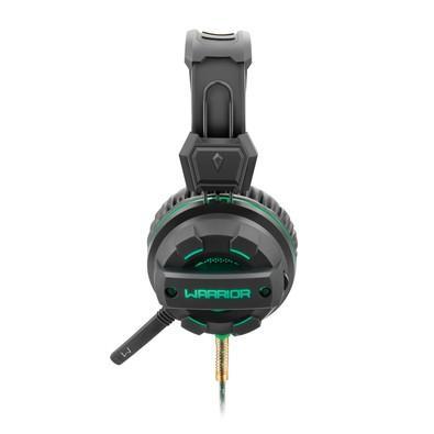 Headset Gamer Warrior USB e P2 com LED Verde - PH143