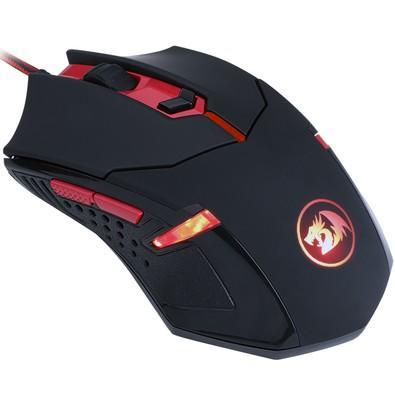 Mouse Gamer Redragon Centrophorus V3, 3200dpi 6 botões e 8 Ajustes de Peso USB M601-3
