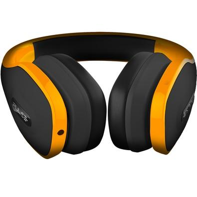 Headphone Pulse Over Ear Hands Free com Microfone Integrado, Amarelo - PH148