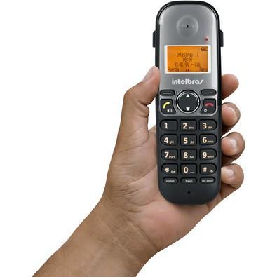 Telefone Intelbras Sem fio Digital TS5120 Preto - 4125120