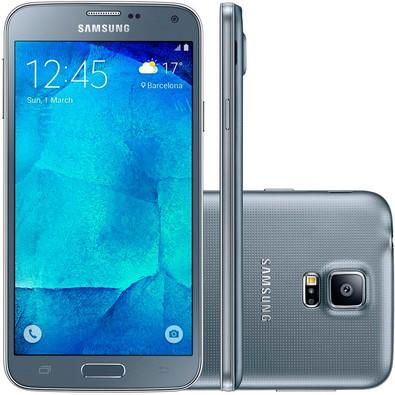 Smartphone Samsung Galaxy S5 New, 16GB, 16MP, Tela 5.1´, Prata - G903M