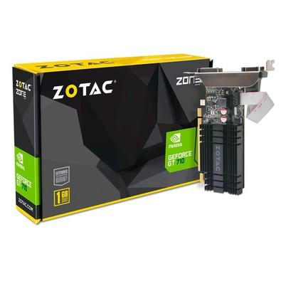 Placa de Vídeo Zotac NVIDIA GeForce GT 710 1GB, DDR3 - ZT-71301-20L