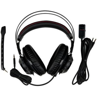 Headset Gamer HyperX Cloud Revolver - HX-HSCR-BK/LA - Preto/Vermelho