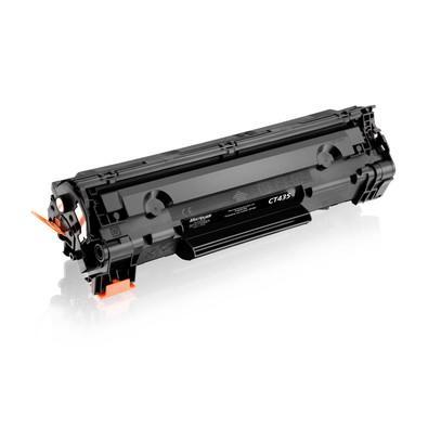 Toner Multilaser para HP, Preto - CT435