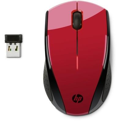 Mouse Sem Fio HP X3000 Vermelho