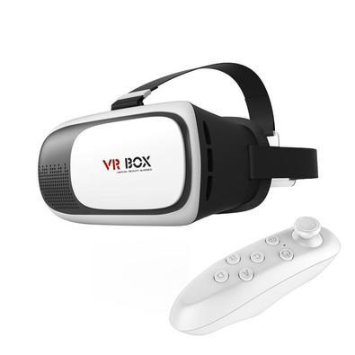 Óculos de Realidade Virtual + Controle - VR BOX V2