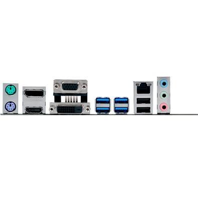 Placa-Mãe ASUS p/ Intel 6/7a Geração, LGA 1151, mATX, B150M-C/BR, 4x DDR4, HDMI/DVI/VGA/DP  USB 3.0, Crossfire, 2 header COM, SBA,Chassis Intrusion