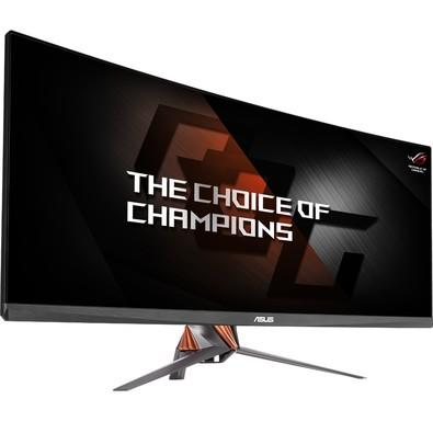 Monitor Gamer Asus ROG Swift LED 34´ Ultrawide Curvo, QHD, HDMI/Display Port, GSync, Som Integrado, Altura Ajustável - PG348Q