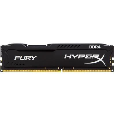Memória Kingston HyperX FURY 64GB (4x16GB) 2133Mhz DDR4 CL14 Black - HX421C14FBK4/64