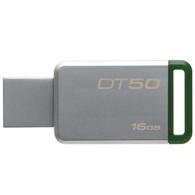 Pen Drive Kingston DataTraveler USB 3.1 16GB - DT50/16GB - Verde