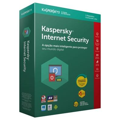 Kaspersky Internet Security 2018 Multidispositivos 1 PC