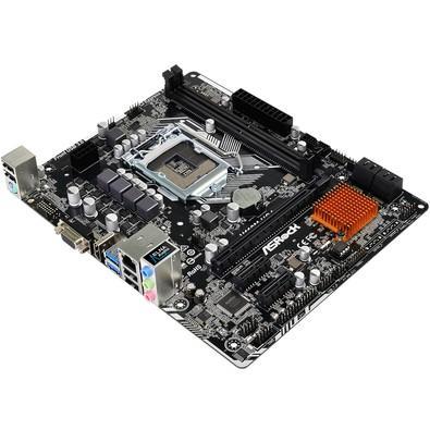 Placa-Mãe ASRock H110M-HG4, Intel LGA 1151, mATX, DDR4