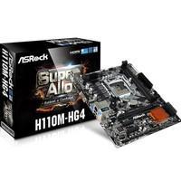 Placa-Mãe ASRock p/ Intel LGA 1151 mATX H110M-HG4 2xDDR4