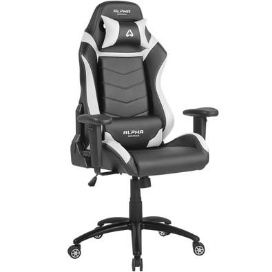 Cadeira Gamer Alpha Gamer Gamma, Black White