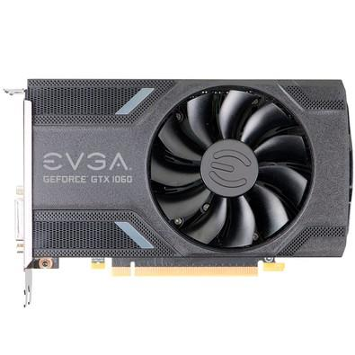 Placa de Vídeo EVGA NVIDIA GeForce GTX 1060 Gaming 6GB, GDDR5 - 06G-P4-6161-KR