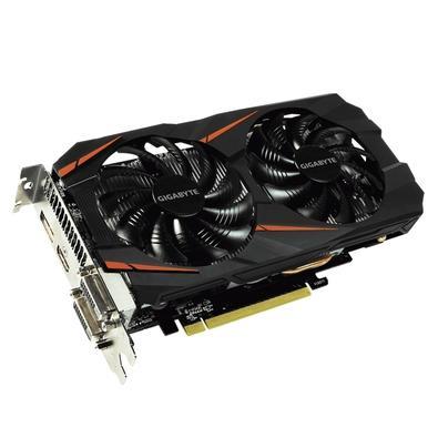 Placa de Vídeo Gigabyte NVIDIA GeForce GTX 1060 WindForce OC 6G, GDDR5 - GV-N1060WF2OC-6GD
