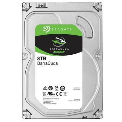 HD Seagate BarraCuda, 3TB, 3.5´, SATA - ST3000DM008