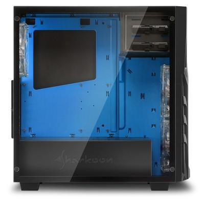 Gabinete Sharkoon Blue ATX com Vidro Lateral Temperado - DG7000-G