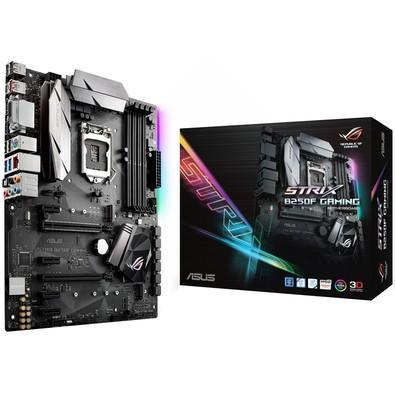 Placa-Mãe Asus Rog Strix B250F Gaming, Intel LGA 1151, ATX, DDR4