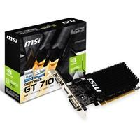 Placa de Vídeo MSI NVIDIA GeForce GT 710 2GD3H LP 2GB, DDR3