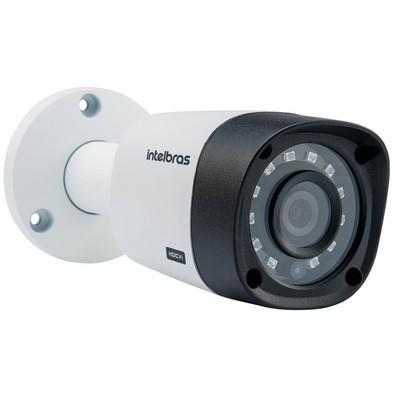 Câmera Bullet Intelbras HDCVI com infravermelho, Lente 2,8MM, Resolução HD 720p IR 20M - VHD 3120 B G3 4565228 / 4565235 / 4565128