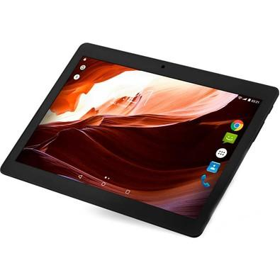 Tablet Multilaser M10A 3G Quad-Core 10´ 1.3Ghz, Bluetooth, GPS, Câmera, 2GB RAM, 16GB Flash Preto - NB253
