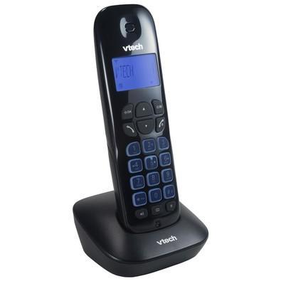 Telefone Vtech Sem Fio, Viva Voz, Identificador e Secretária VT685-SE Preto