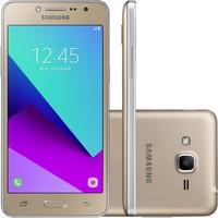 Smartphone Samsung Galaxy J2 Prime TV SM-G532MT Quad Core 1.4Ghz , 8MP e Flash Frontal, 16GB, Tela 5, 4G, Duos, Desbloq - Dourado