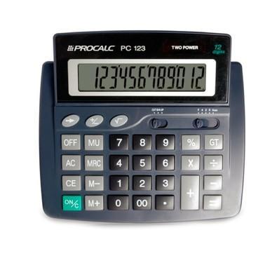 Calculadora de Mesa Procalc 12 Dígitos PC123
