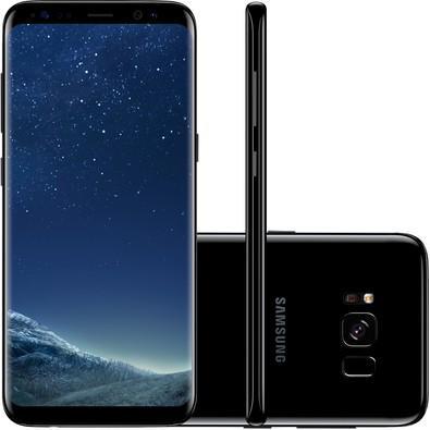 Smartphone Samsung Galaxy S8, 64GB, 12MP, Tela 5.8´, Preto - G950FD