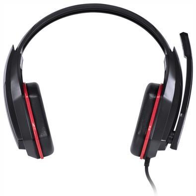 Headset Gamer Vinik Ogma Preto e Vermelho