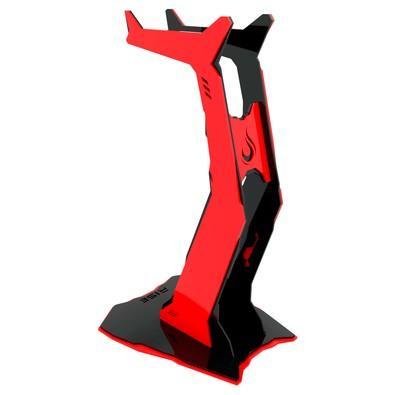 Suporte de Headset Rise Venon Preto e Vermelho - RM-VN-01-BR