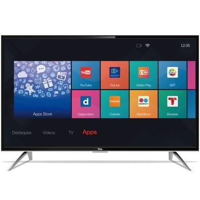 Smart TV TCL 32´ LED HD com Conversor Digital, HDMI, Wi-Fi, USB -  L32S4900S