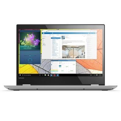 Notebook Lenovo Yoga 2 em 1 520-14IKB i5-7200U, 4GB, 1TB, Leitor de Impressão Digital, Windows 10 Home, Platinum, 80YM0007BR